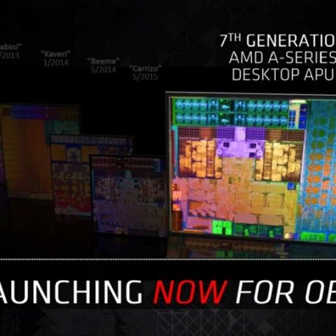 7th generation AMD A-series desktop processors debut globally