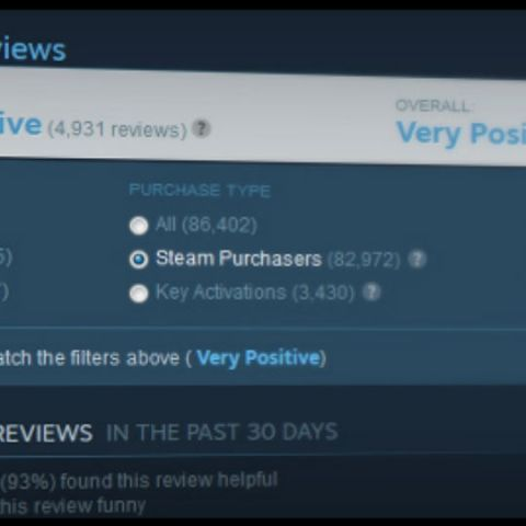 Valve changes the way Steam reviews work, will affect 14% games on platform