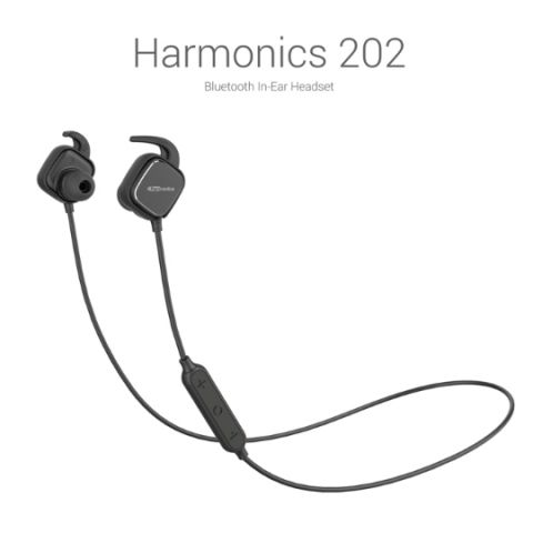 Portronics launches its first stereo bluetooth headphones, the Harmonics 202