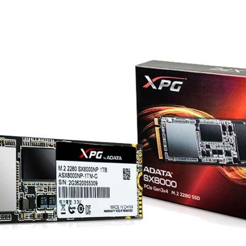 ADATA launches new XPG SX8000 M.2 form factor gaming SSDs