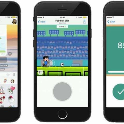 Telegram introduces bot-powered games
