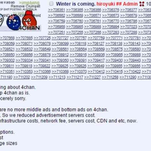 4chan is running out of money and might be over | Digit