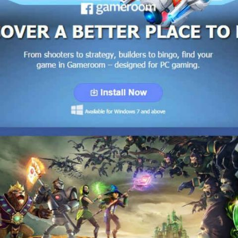 Facebook announces Gameroom, a new PC gaming platform powered by Unity