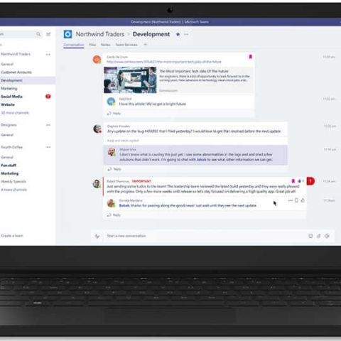 Microsoft Teams, Slack-like chat-based tool announced as part of Office 365