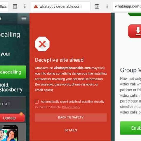 Beware! WhatsApp group video-calling invite is a malicious scam