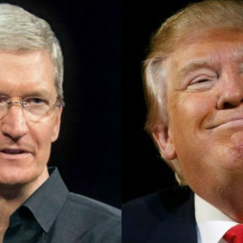 Apple CEO Tim Cook changed his name to 'Tim Apple' on Twitter after Donald Trump accidentally called him that