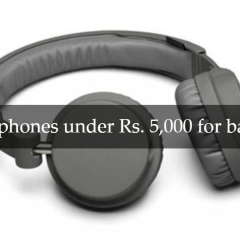 Best headphones under Rs. 5,000 for bass lovers