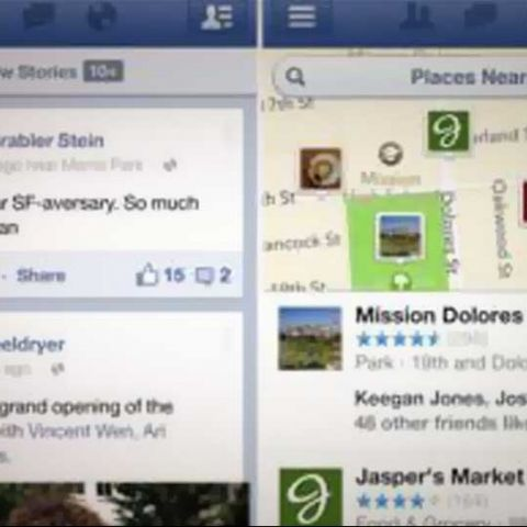 Facebook for iOS updated with video recording and voice messaging