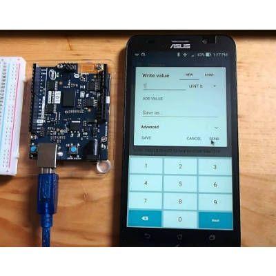 Arduino 101 Bluetooth Low Energy