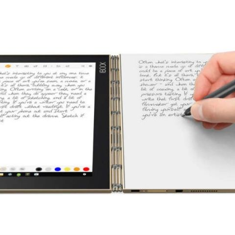 Lenovo Yoga Book with Halo keyboard launching in India on December 13