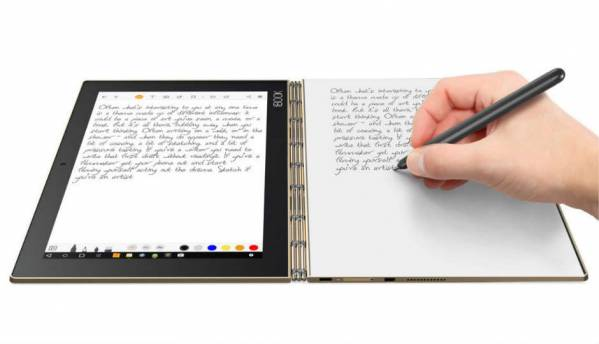 Lenovo Yoga Book with Chrome OS to launch in 2017