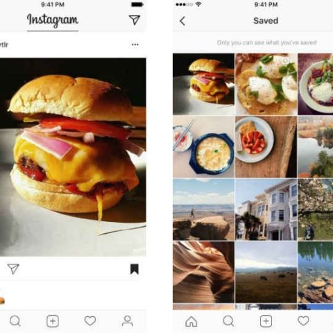 Instagram's save for later feature is called bookmark