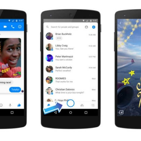 Facebook Messenger now has 1.3 bn monthly active users, same as WhatsApp