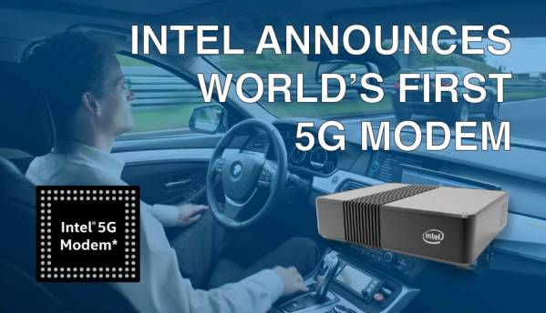 Intel announces world's first 5G Modem
