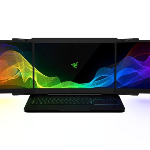 Razer's Project Valerie is a 'Laptop' with triple 4K displays