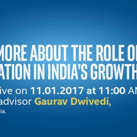 DIGITISATION IN INDIA: IFDI CHALLENGE 2.0 LIVE WEBCAST WITH SHRI GAURAV DWIVEDI