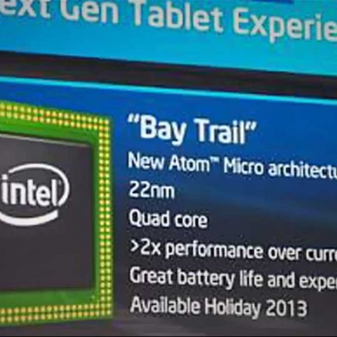 CES 2013: Intel shows off Bay Trail tablet processors; flanks Windows RT