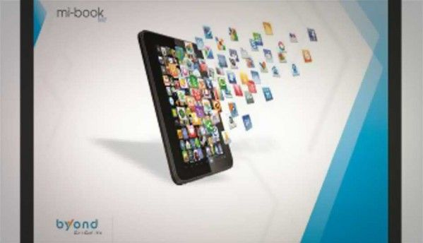 Byond Tech launches Mi-Book Mi7 budget ICS tablet for Rs. 11,499