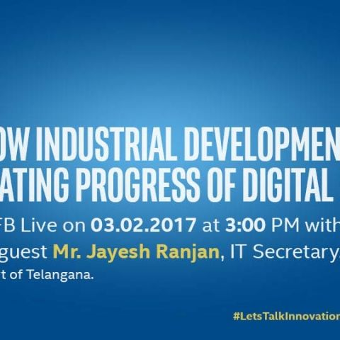 DEVELOPING INDIA'S INDUSTRIES: IFDI CHALLENGE 2.0 LIVE WEBCAST WITH Shri. Jayesh Ranjan