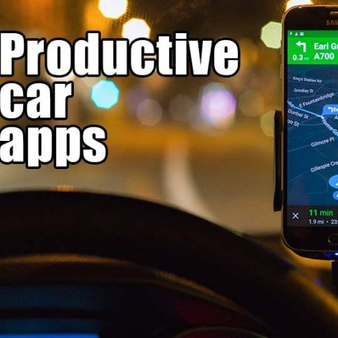 5 productive car apps you need to install