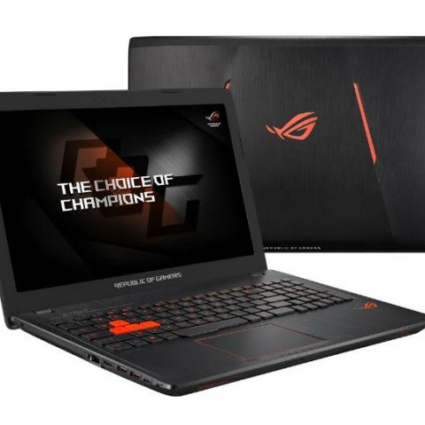 Asus ROG Strix GL553 compact gaming laptop with NVidia GeForce GTX 1050 launched at Rs. 94,990