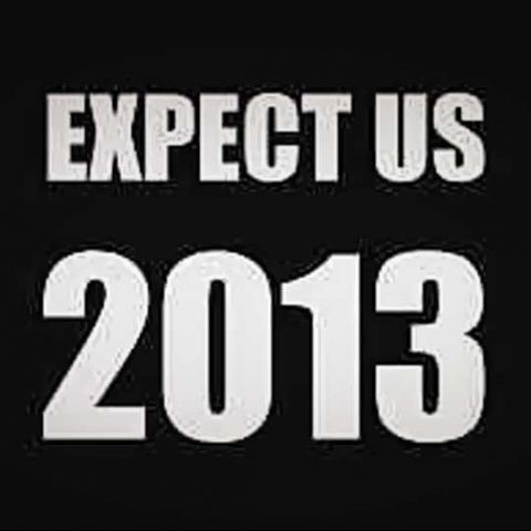 Expect Us 2013: Anonymous warns the world