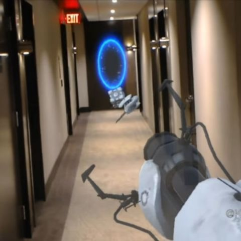 This developer brought Portal and Pokemon to life with