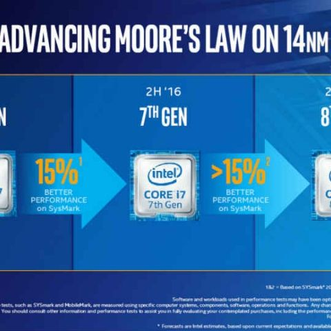 Intel's 8th gen CPUs will reuse14nm manufacturing process