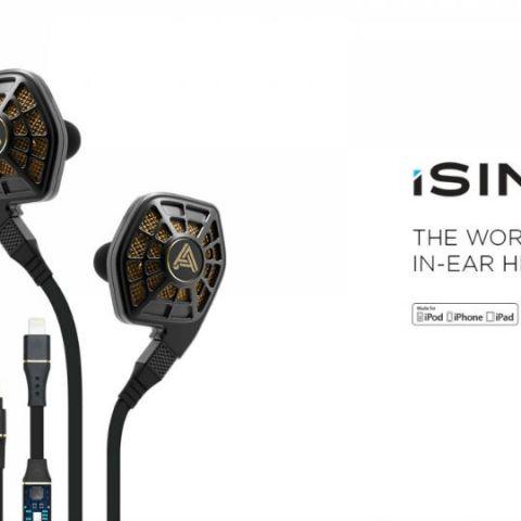 Audeze announces iSINE in-ear planar headphones in India