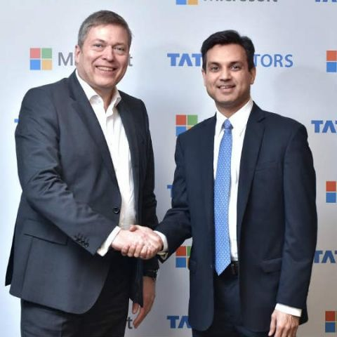 Tata Motors, Microsoft partner to develop connected cars
