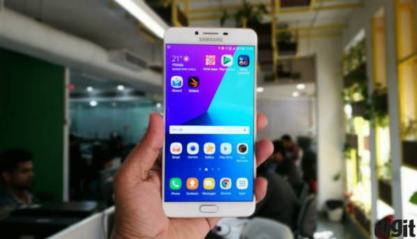 Samsung Galaxy C9 Pro now receiving Android Nougat update in India