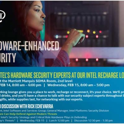 Join My Talk at RSA: How Hardware Can Help Defend Against Modern Threats
