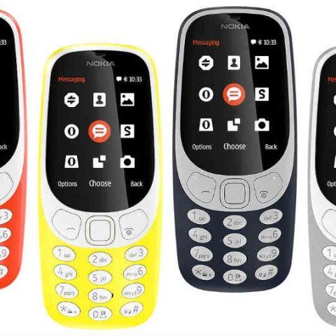 Nokia 3, Nokia 5, Nokia 6 and Nokia 3310 feature phone announced