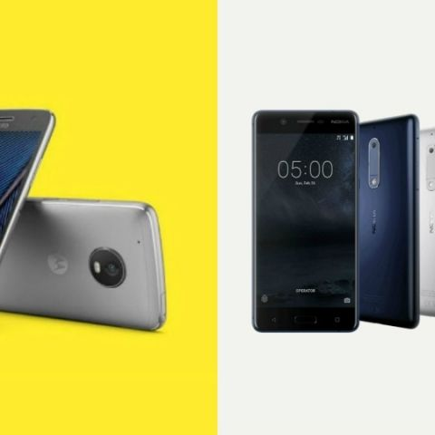 Moto G5 v  Nokia 5: Specifications compared of new midrange