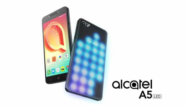 Alcatel A5 LED, A3, U5 smartphones launched at MWC 2017