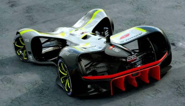 Meet Robocar, an electric driverless car with a top speed of 320 Kph