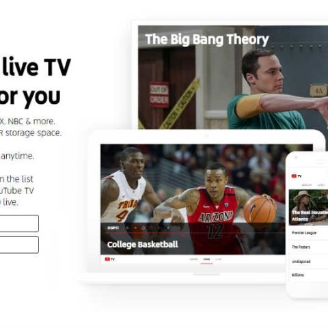 Google announces YouTube Live, a subscription-based live TV service