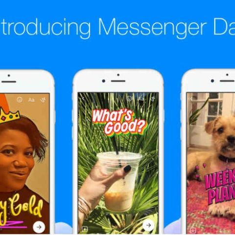Facebook rolls out Snapchat-like Messenger Day feature globally