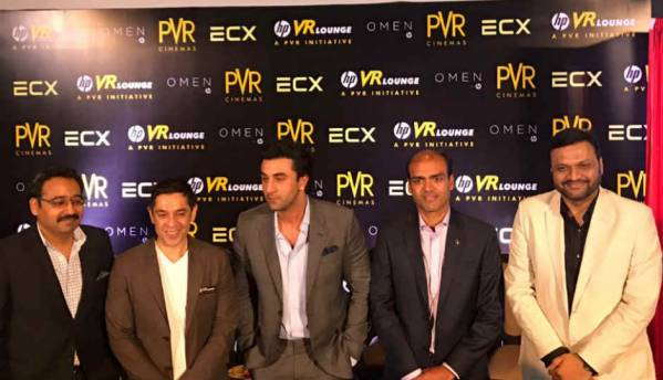 PVR, HP launch Asia's first Virtual Reality Lounge in Noida