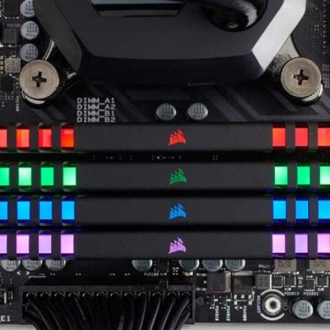 Corsair Vengeance RGB RAMs now work with GIGABYTE's Fusion app