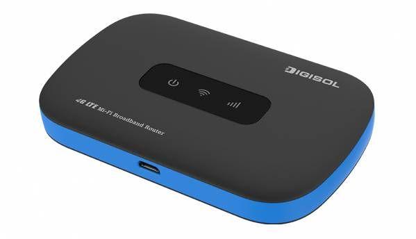 Digisol DG-HR1070MSE 4G Mi-Fi Portable Broadband Router