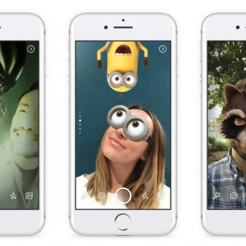 Facebook brings Stories and new camera features to its main app