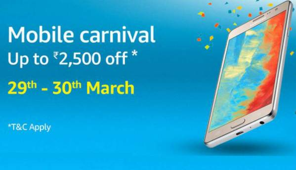 Top deals to check out during Amazon's Mobile Carnival