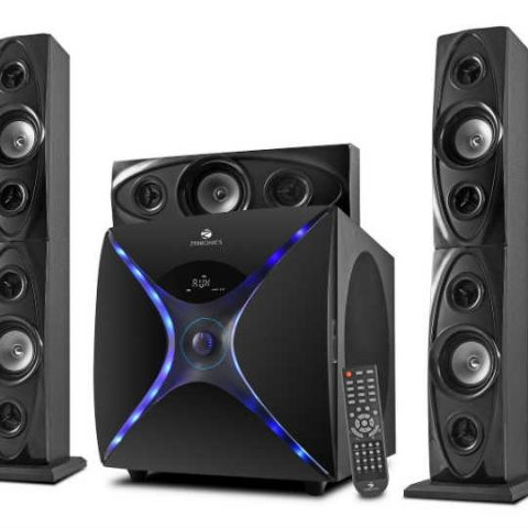 Zebronics launches 5.1 Tower Speakers 'Dhoom - BTRUCF' at Rs 16,161