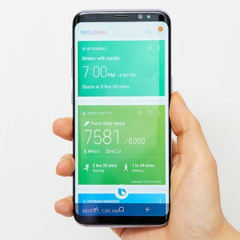 Samsung's AI assistant Bixby unofficially available on Galaxy S7