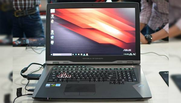 ASUS ROG GX800 liquid cooled gaming laptop launched in India for Rs.7,97,990
