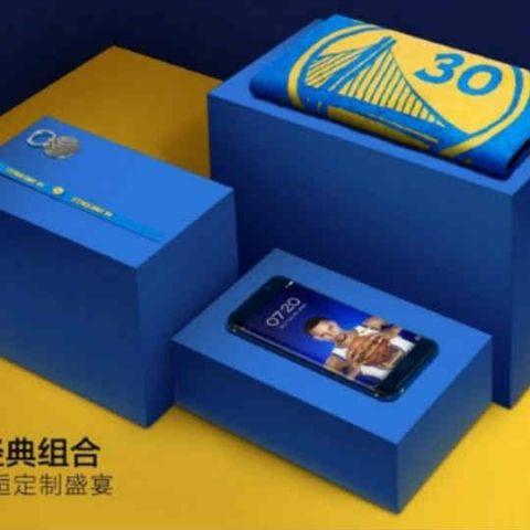 Vivo Xplay6 Stephen Curry एडीशन अब प्री ऑर्डर के लिए उपलब्ध