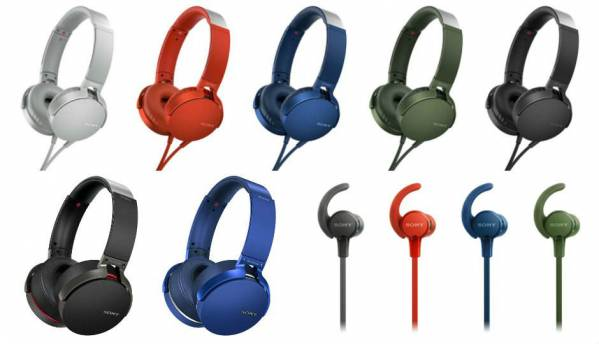 Sony unveils its Extra Bass 2017 lineup of headphones, portable wireless speakers in India