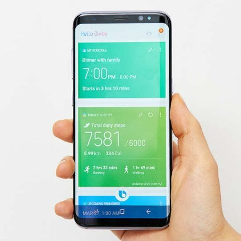Samsung is blocking users from remapping the Galaxy S8's Bixby button