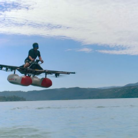 Larry Page backed flying car company just announced its Kitty Hawk moment